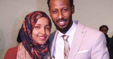 Rep. Ilhan Omar and her alleged estranged husband, Ahmed Hirsi.