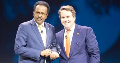 Farmaajo Concordia Leadership Award