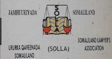 Somaliland Lawyers Association (SOLLA) logo
