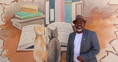 Hargeisa Cultural Center founder Jama Musse Jama