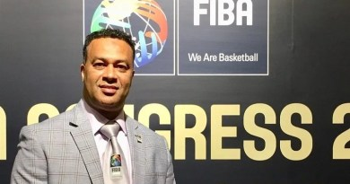 Africa Zone 5 basketball official Bana Ali