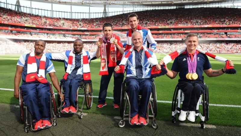Abdi Jama alongside GB teammate Ade Orogbemi