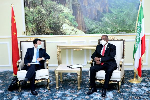Somaliland President hosts a High Level Chinese Delegation