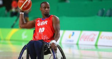 wheelchair basketball star Abdi Jama