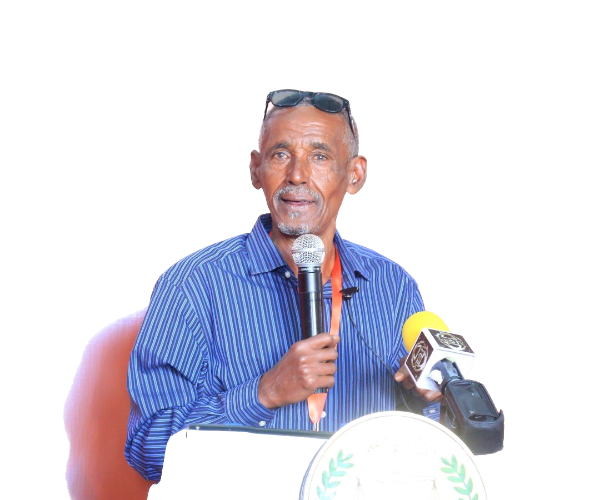 Professor Hussein Suleiman Ahmed, the Director of the National Museum