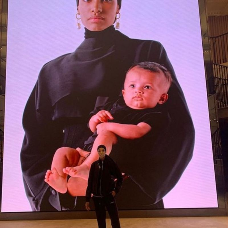 The Burberry campaign in 2019 portrayed motherhood