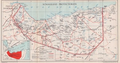somaliland map-1948