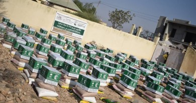 SNDF Distributes Ramadan Food Baskets