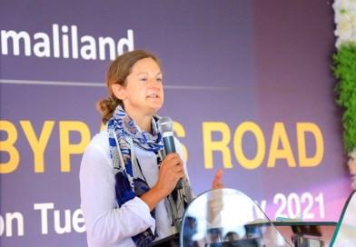 The British Ambassador, Kate Foster