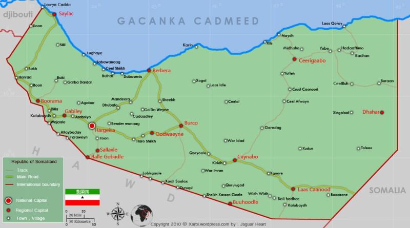 somaliland colonial borders