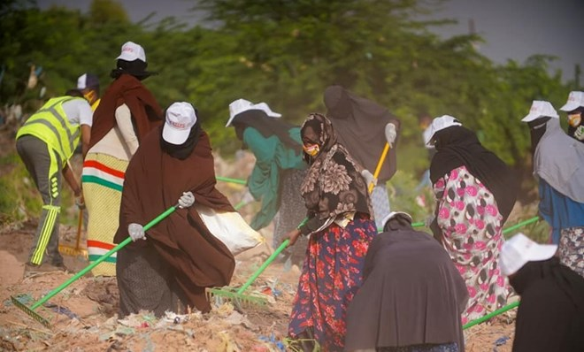 hargeisa river bed cleaning