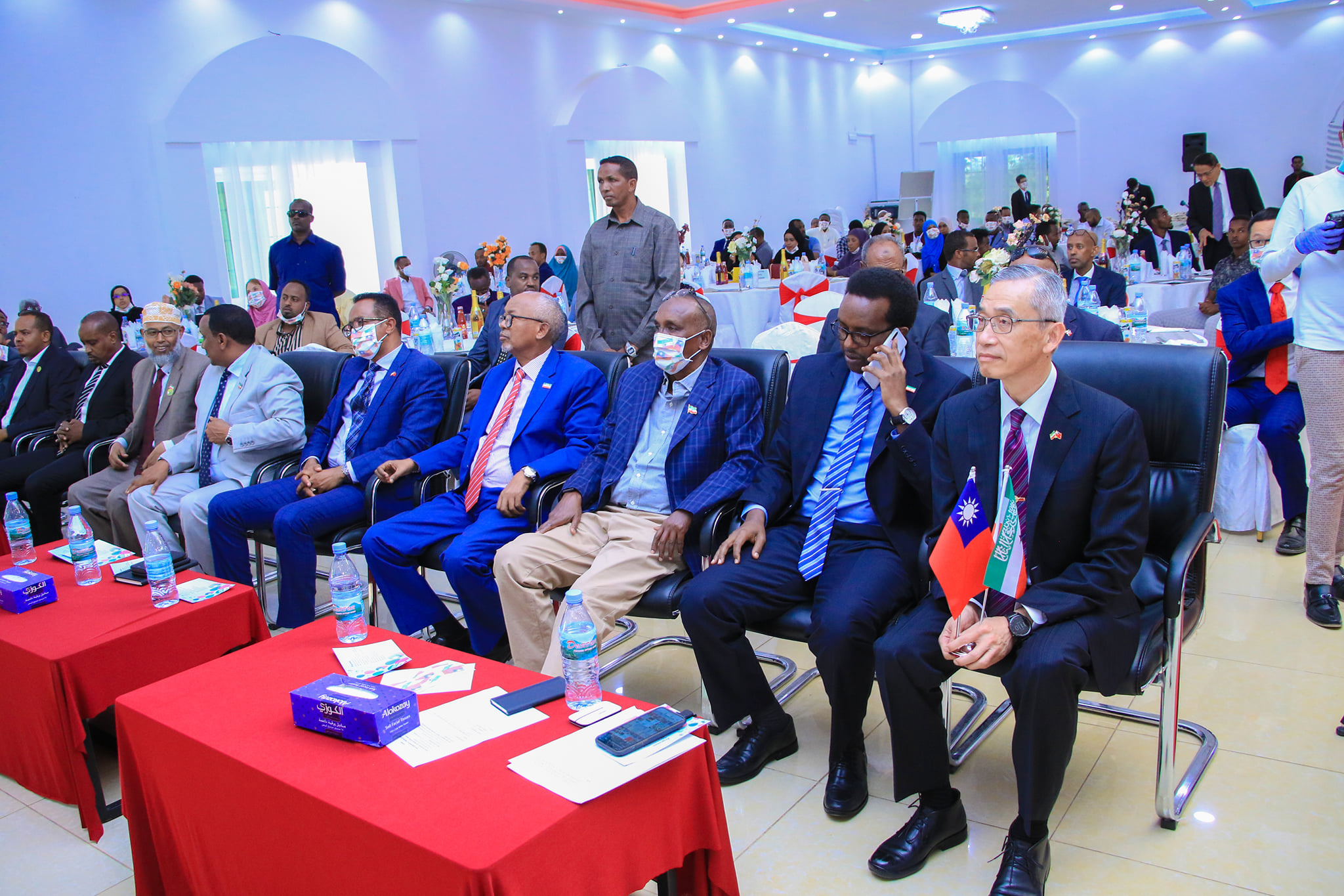 participants of Taiwan Representative Office 1st Anniversary ceremony