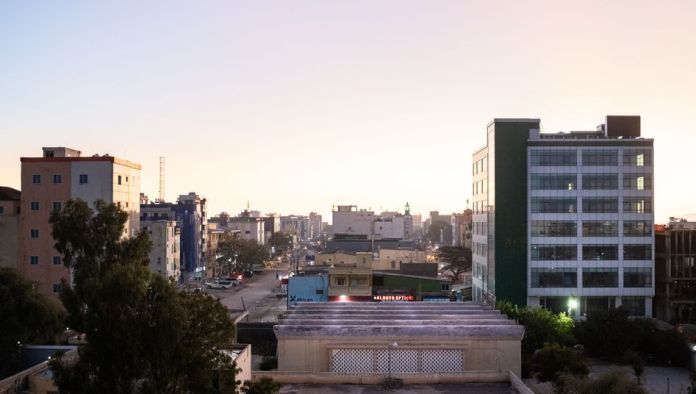 Central Hargeisa, the capital city of Somaliland Foto:Benjamin Moscovici