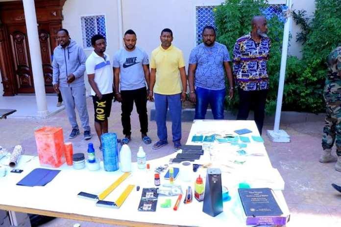 Nigerian Criminals arrest in Somaliland