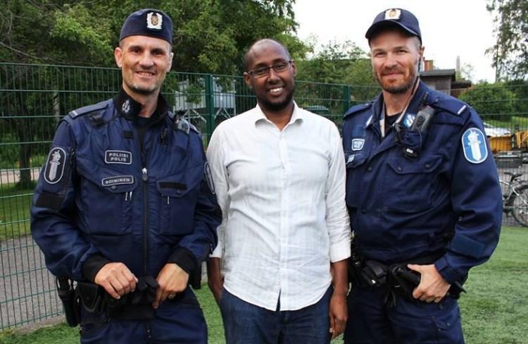 arshe ja poliisit
