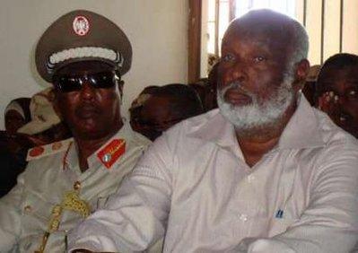 Somalia's security minister Omar Hashi Aden