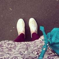 Gold shoes - yes!