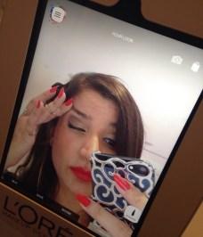 No makeup in the app