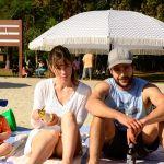 Jessica Biel (Cora Tannetti) and Christopher Abbott (Mason Tannetti) star in Part I of The Sinner Photo credit: USA Network
