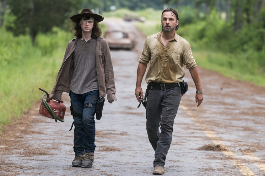 Twitter Reactions to The Walking Dead