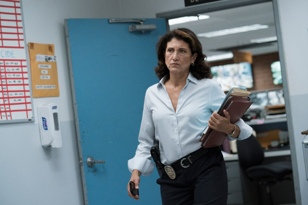 """Bosch: Season 4"" - Amy Aquino in Season 4 of Bosch"