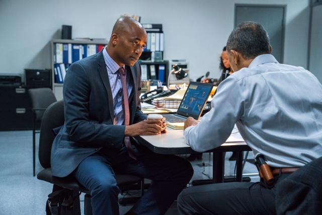 Det. Rondell Pierce (DaJuan Johnson) in Bosch season 4 Photo courtesy of Amazon Studios