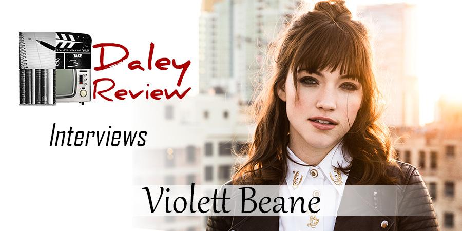 Violett Beane Exclusive Interview Banner
