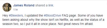Blood Drive update