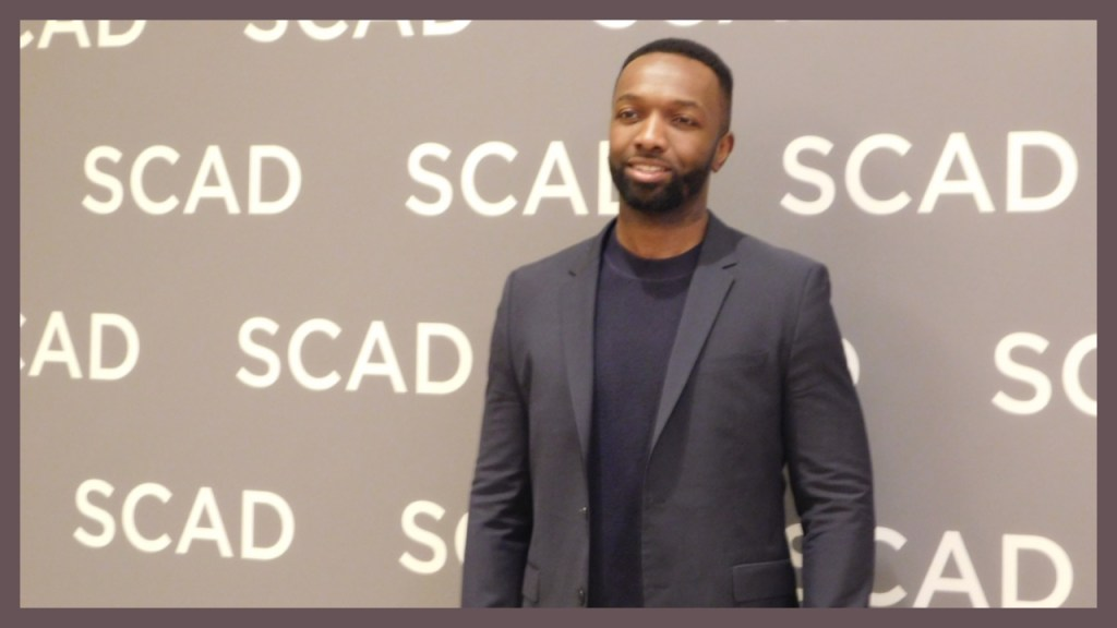 Bosch actor Jamie Hector at SCAD aTVfest photo credit: Tracey Phillipps