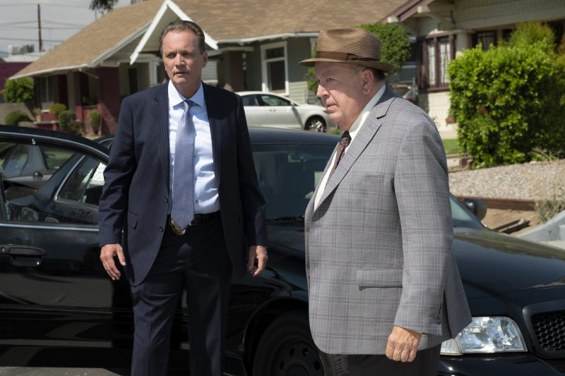Bosch season 5 episode 1 Crate (Gregory Scott Cummins) and Barrel (Troy Evans) photo credit: Aaron Epstein/Amazon Prime Video