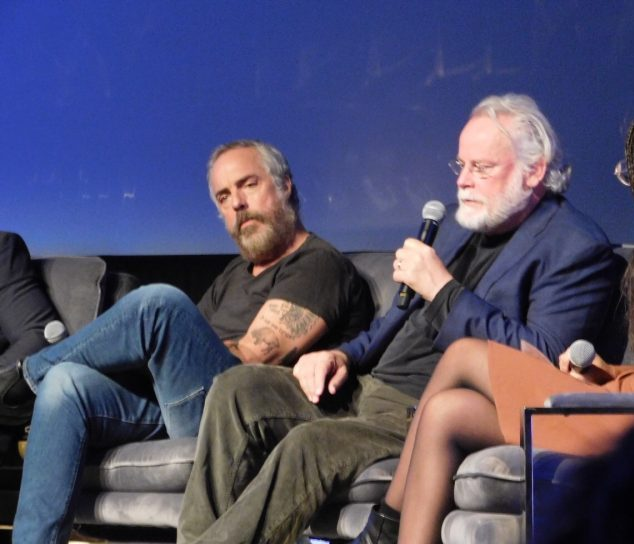 Titus Welliver and Michael Connelly as SCAD aTVfest 2019 photo credit: Tracey Phillipps