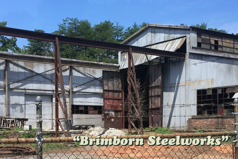 location used for the Brimborn Steelworks seen on Atlanta Upside Down Tour with Atlanta Movie Tours Photo credit: Tracey Phillipps