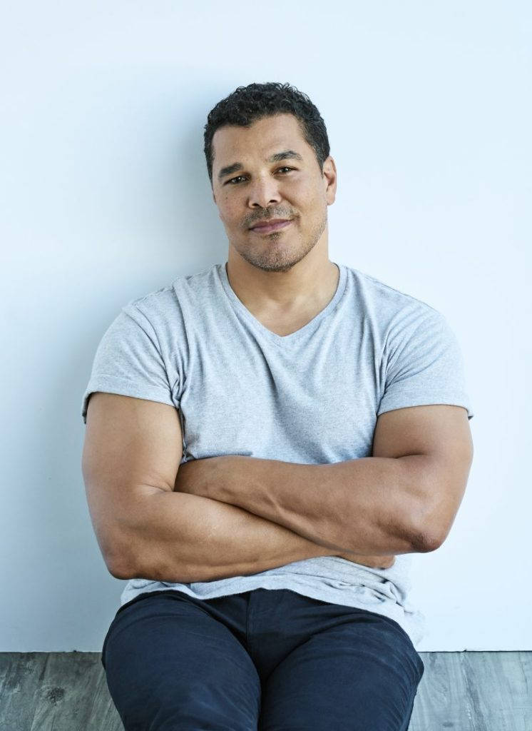 Actor Geno Segers, photo credit: The Riker Brothers