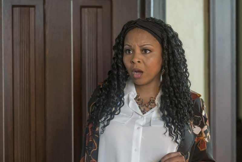 """PERFECT HARMONY -- """"Hunting Season"""" Episode 104 -- Pictured: Tymberlee Hill as Adams -- (Photo by: Ron Batzdorff/NBC)"""
