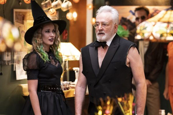 """PERFECT HARMONY -- """"HALLE-BOO-YAH"""" Episode 106 -- Pictured: (l-r) Bradley Whitford as Arthur Cochran, Anna Camp as Ginny -- (Photo by: Justin Lubin/NBC)"""