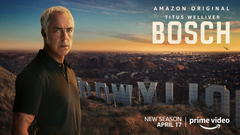 Key art from Bosch season 6 photo credit: Amazon