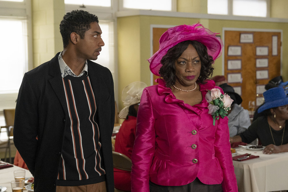 """COUNCIL OF DADS -- """"The Best Laid Plans"""" Episode 107 -- Pictured: (l-r) Steven Silver as Evan Norris, Regina Taylor as Anne Norris -- (Photo by: Seth F. Johnson/NBC)"""