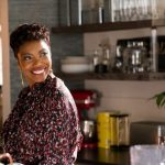 SWEET MAGNOLIAS (L TO R) HEATHER HEADLEY as HELEN DECATUR in episode 109 of SWEET MAGNOLIAS Cr. ELIZA MORSE/NETFLIX © 2020