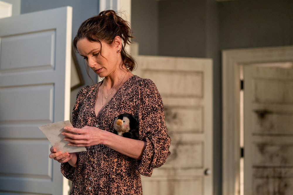 """COUNCIL OF DADS -- """"Fight Or Flight"""" Episode 110 -- Pictured: Sarah Wayne Callies as Robin Perry -- (Photo by: Seth F. Johnson/NBC)"""