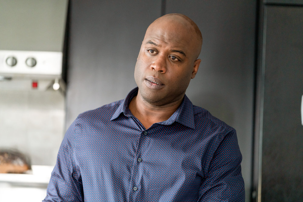 """COUNCIL OF DADS -- """"Fight Or Flight"""" Episode 110 -- Pictured: Kevin Daniels as Peter Richards -- (Photo by: Seth F. Johnson/NBC)"""