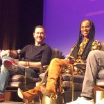 Actors Mark Paul Gosselaar and Tika Sumpter of Mixed-ish on ABC at SCAD aTVfest 2020 photo credit: Tracey Phillipps, So Many Shows