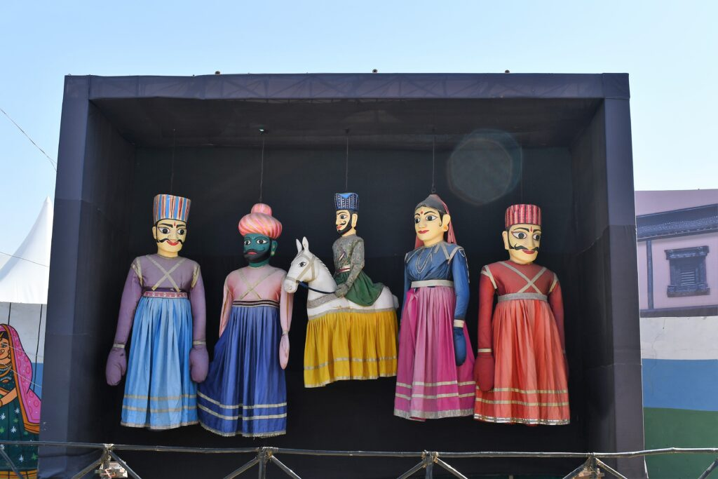 Art Installation of Puppets, Rann Utsav