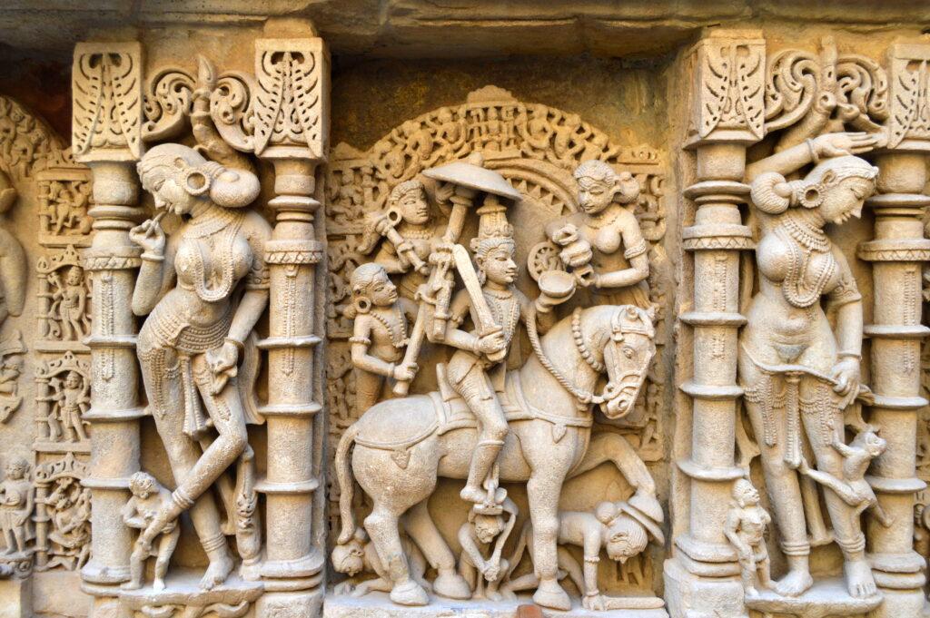 Kalki Avavtar of Vishnu, Rani Ki Vav, Patan, Gujarat