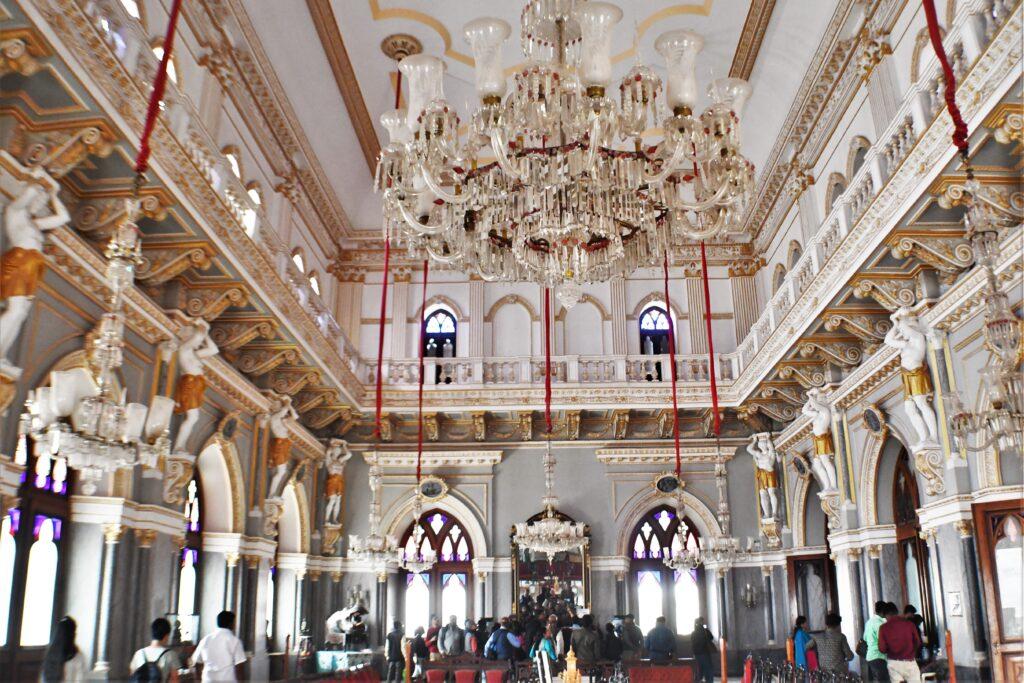 Inside Parag Mahal, Bhuj