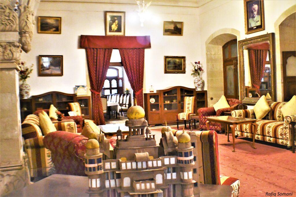 Inside Vijay Villas Palace, Mandvi