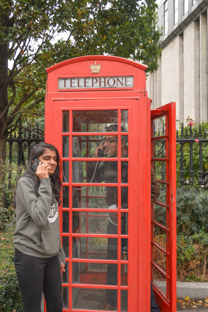 Red Telephone Booth, London @Rafiq Somani