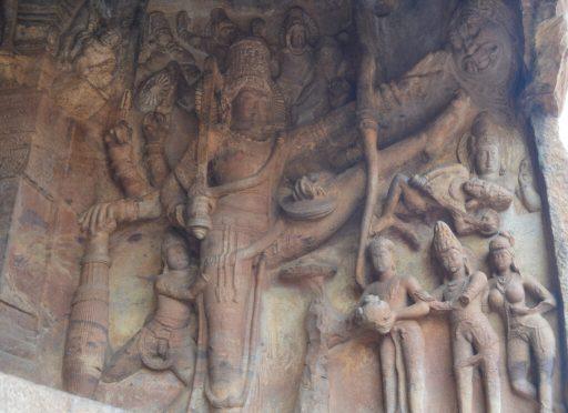 Trivikram Cave , Badami
