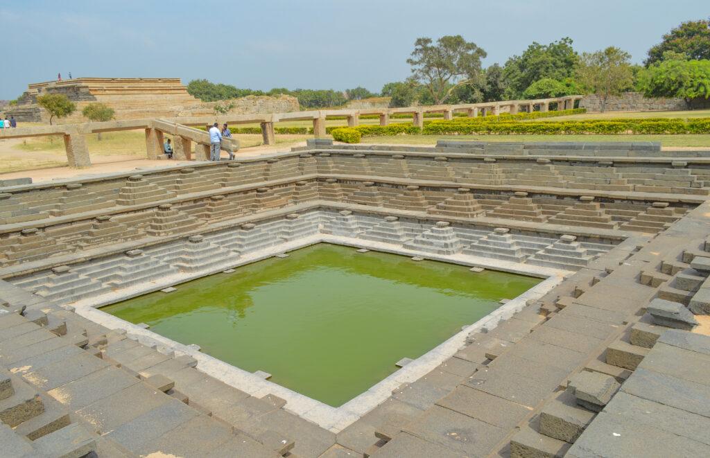 Pushkarni, Water Body, Hampi