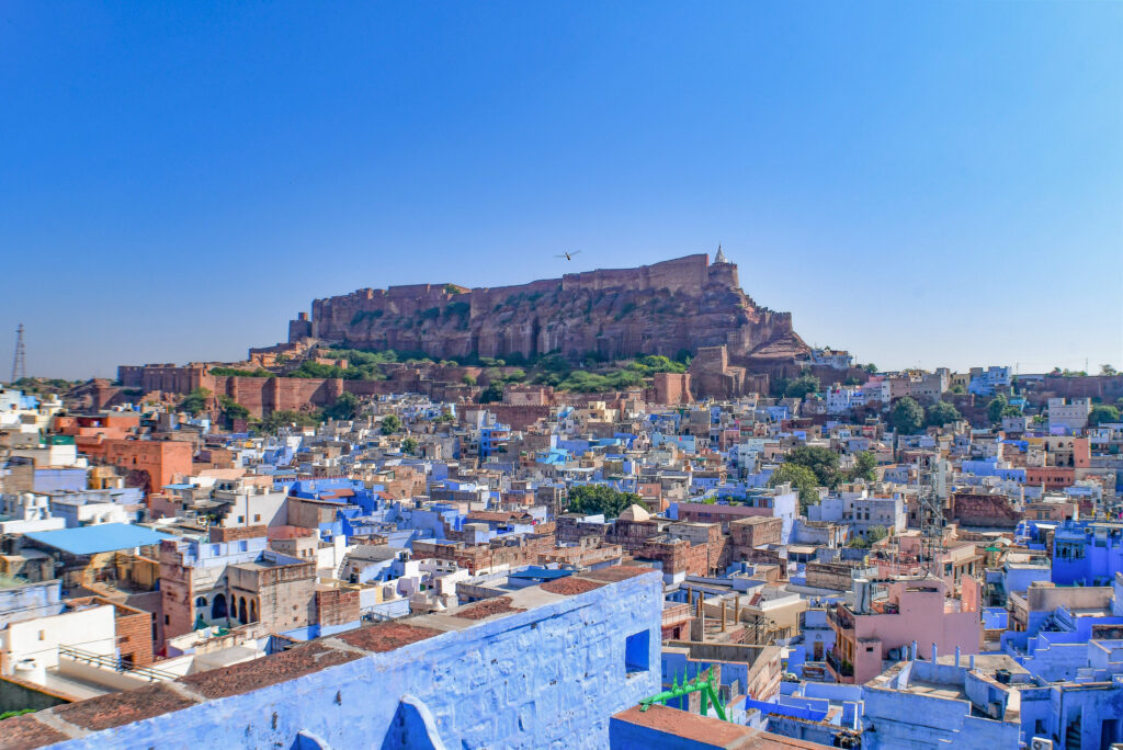 Old Blue City and Mehrangarh Fort, Jodhpur