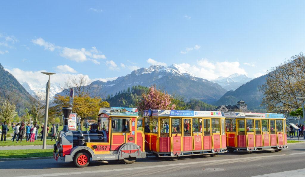 Toy Train, Interlaken, Switzerland